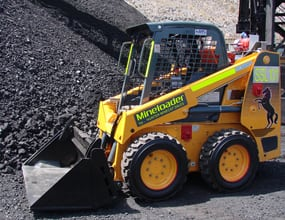 fully compliant underground skid steer loaders