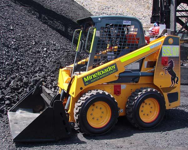 mustang mineloader 2054 series ii