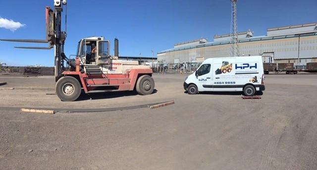 SVE 35120 Forklift -